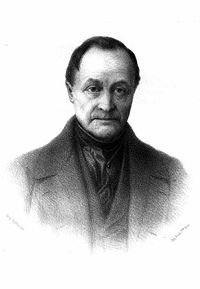 The founder of sociology Auguste Comte