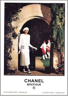 Old Chanel Ad