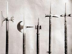14-15 century polearms