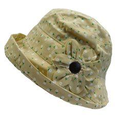 Floral Design Cloche Hat Summer Hats For Women, Cloche Hat, Floral Design, Cotton, Products, Fashion, Moda, La Mode, Floral Patterns