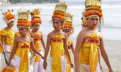 The culture of Bali...