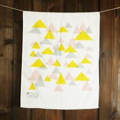 For the Makers / May Inspiration / Tea Towel by PataPri