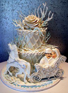 Russian Winter, a'la Dr. Zhivago cake