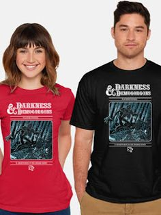 Cool T-Shirt for Women and Men Darkness & Demogorgons  #dungeonsanddragons #roleplaying