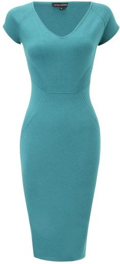 Narciso Rodriguez Silk Jersey Bodycon Dress in Blue (turquoise) - Lyst
