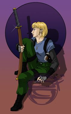 I'm drawing a Dresden Files Character a Day on my tumblr kelmcdonald.tumblr.com and then at the end of the week posting them all on da I'm drawing a Dresden Files character a day, in order of appea...