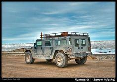 Hummer H1 - Barrow (Alaska)