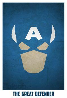 Marvel Comics: Captain America - The Great Defender