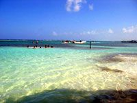Costa Maya, Mexico. Had a great beach excursion there!