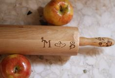Personalized Gift - Rolling Pin - Kitchen Gift/ Cooking Gift. $35.00, via Etsy.