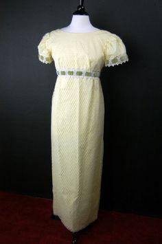 victorian empire waist wedding gowns