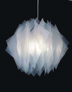 The Protea  Polypropylene with stainless steel fitting Colours available: White An early work - check if still making this model... www.heathnash.com