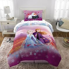 Twin Comforter Sets, Girls Bedding Sets, Frozen Bed Set, Frozen Bedroom, Frozen Bedding, Disney Bedding, Bed In A Bag, Bedroom Themes, Bedrooms