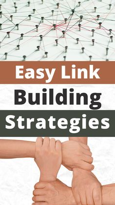 Want to know what back linking for link building is so important for SEO and ranking your posts on Google? Read these easy strategies to get links back to your blog from other websites. #linkbuilding #backlinking #seostrategy