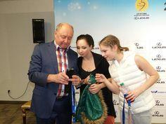 Alexei Mishin, Elizaveta Tuktamysheva, Yulia Lipnitskaya