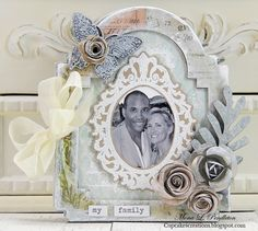 my family mini album created by Mona for the Simon Says stamp Monday challenge (it's in the family) August 2014