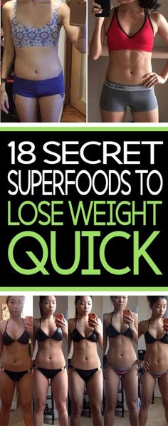 18 Secret Superfoods For Weight Loss – Toned