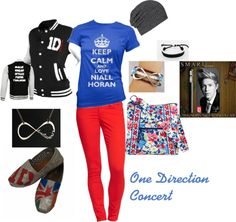 """One Direction Concert"" by bethanietrees on Polyvore"