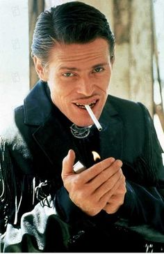 "Wild At Heart (1990) 'Bobby Peru' (Willem Dafoe) ""My name's Bobby Peru, like the country"""