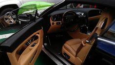 GeoWash detailed interior of a Bentley