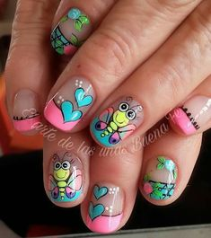 44 Trendy Ideas For Pedicure Colors Toes Summer Gel French Manicure, French Manicure Designs, French Tip Nails, Nail Designs, Flower Pedicure Designs, Pedicure Colors, Fall Pedicure, Pedicure Nail Art, Pedicure Ideas