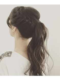 Modern business hairstyle: Photos of the best options for a business woman frisuren haare hair hair long hair short Business Hairstyles, Trendy Hairstyles, Braided Hairstyles, Wedding Hairstyles, Braided Ponytail, Woman Hairstyles, Hair Ponytail, Hairstyles 2016, Back To School Hairstyles