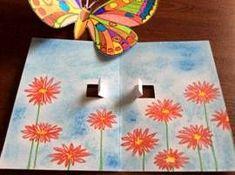 Motýli – prostorový obrázek Summer Art Projects, School Art Projects, Summer Crafts, Diy Crafts To Do, Arts And Crafts, Paper Crafts, Murals For Kids, Art For Kids, Online Art Classes