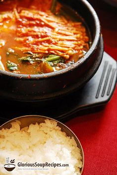 Spicy Fish Soup - A delicious fish soup that's low in fat!