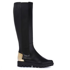 Baldinini Woman Collection: Boots in black calfskin Online Shopping Shoes, Luxury Shoes, Italian Style, Black Boots, Rubber Rain Boots, Woman, Bags, Accessories, Collection