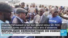 Retour d'Etienne Tshisekedi en RDC ; Crise au #VENEZUELA ; Guerre en #Syrie ; Convention Démocrate aux #USA... Le point sur l'actualité en #VIDÉO