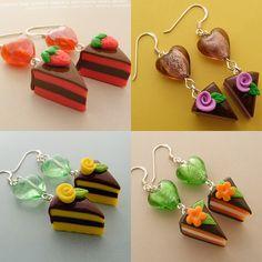 I ♥ Cake Earrings by Shay Aaron