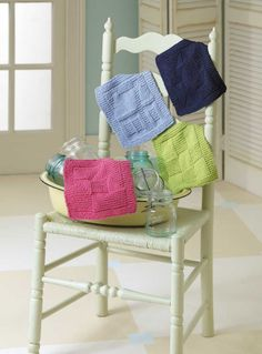 Leisure Arts - Knit Dishcloths eBook, $9.99 (http://www.leisurearts.com/products/knit-dishcloths-ebook.html)