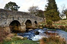 Bridge over the East Dart River, Dartmoor Old Bridges, Exeter Devon, Dartmoor National Park, Old Stone, Plymouth, Crosses, Yards, Maine, Centre