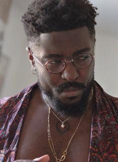 Shirt from: Romance Jewels from Africa (Congo) Ig: oisonoir Black Men Haircuts, Black Men Hairstyles, Harry Samba, High Top Haircut, Dreadlock Hairstyles For Men, Fc B, Handsome Black Men, Dark Skin Beauty, Aesthetic People