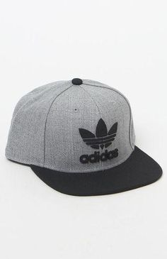 af0748d78e93b Rock adidas  signature athletic style wherever you go in the Trefoil Chain  Snapback Hat.