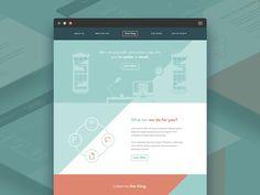 Text King / Homepage WIP by Seán Halpin
