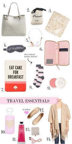 Travel Essentials | Chronicles of Frivolity