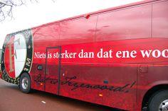 Spelersbus Feyenoord