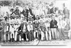Simón Cortés Vieyra y su grupo de cristeros en 1929