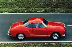 From 1999 - 2003 I owned a 1972 V.W. Karmann Ghia (not this color). I loved it. I miss it. I want it back. I know it's just a thing... but it was a lovely thing.