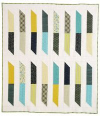 modern quilt patterns | Free Quilt Pattern: Picket Fences by John Adams, a.k.a. Quilt Dad