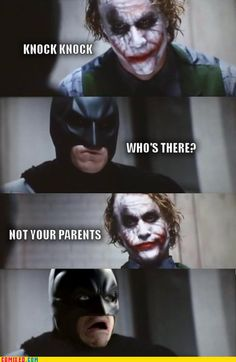 hahahahaha!! poor batman!