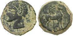 Carthago Nova, Roman Occupation, Scipio Africanus, c. 209 - 206 B. Hannibal Barca, Punic Wars, Coin Shop, Out Of Africa, Carthage, North Africa, World History, Black History, Roman