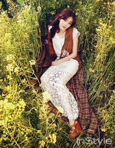 SECRET member Sunhwa in InStyle Korea