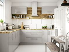 Check out this crucial graphics as well as take a look at today details on Kitchen Cabinetry Update Grey Gloss Kitchen, Gloss Kitchen Cabinets, Glossy Kitchen, Orange Kitchen, Kitchen Units, New Kitchen, Kitchen Tiles, Floors Kitchen, Kitchen Black