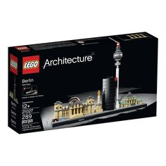 LEGO Architecture Berlin - with the Reichstag, Victory Column, Deutsche Bahn Tower, Berlin TV Tower and the Brandenburg Gate
