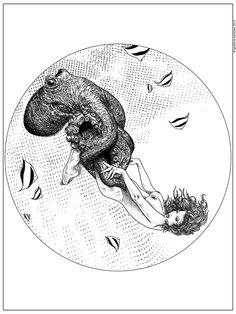 The Stalking - Apollonia Saintclair, via Behance