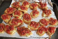 The Fun Cheap or Free Queen: Quick and Easy Bruschetta Recipe (...like, 10 minutes, easy!)