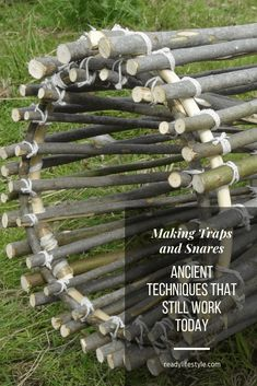 Making Traps and Snares - Ancient Techniques That Still Work Today (with Diagrams) - Prepping Survival Life Hacks, Survival Food, Homestead Survival, Wilderness Survival, Camping Survival, Outdoor Survival, Survival Prepping, Survival Skills, Emergency Preparedness