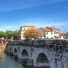 The beautiful Tiberius Bridge in Rimini is celebrating its 2,000th birthday this year amazing! #blogville #inemiliaromagna - Instagram by landlopers